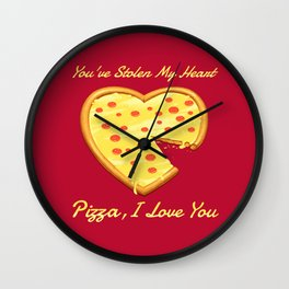 You've Stolen My Heart Wall Clock