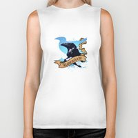 ravenclaw Biker Tanks featuring Ravenclaw by Markusian