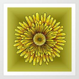 Common Dandelion Art Print