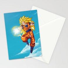 Goku SS3 Stationery Cards