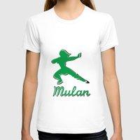 mulan T-shirts featuring Mulan by husavendaczek