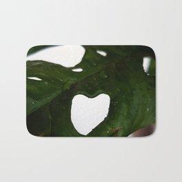 Monkey-Heart Bath Mat