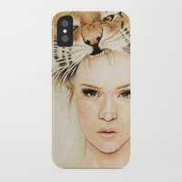 beast iPhone & iPod Cases featuring BEAST by Tessa