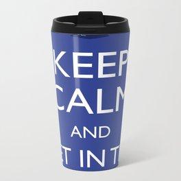 Get in the TARDIS Metal Travel Mug
