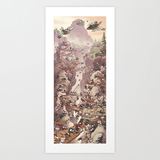 Ninja Scroll Art Print