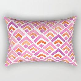 Sewatdee Pink Pattern Rectangular Pillow