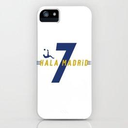 Hala Madrid Home iPhone Case