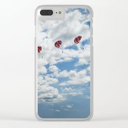 paragliding Clear iPhone Case