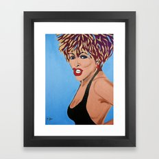 Tina Turner Framed Art Print