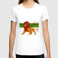 simba T-shirts featuring Simba, the lion king by lulu555
