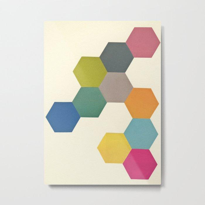 Honeycomb I Metal Print