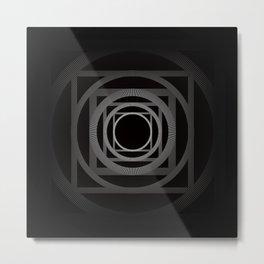 GeoSquared - Geometric Art Print Metal Print