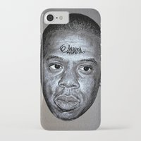 jay z iPhone & iPod Cases featuring JAY-Z by Jahwan by JAHWAN