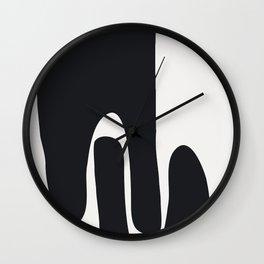 Lend A Hand Wall Clock