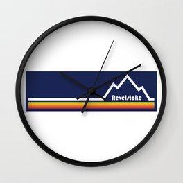Revelstoke, British Columbia Wall Clock