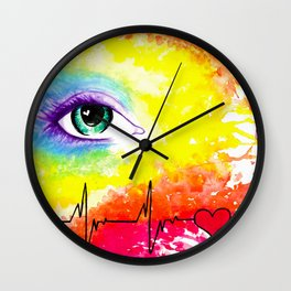We all Have a Pulse Wall Clock