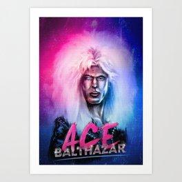 Ace Balthazar  Art Print