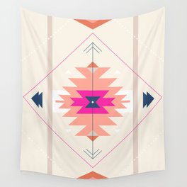 Kilim Inspired Wall Tapestry