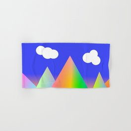 Rainbow Mountain Hand & Bath Towel