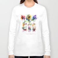card Long Sleeve T-shirts featuring card by tatiana-teni