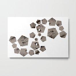 Pentagons of May 22 Metal Print