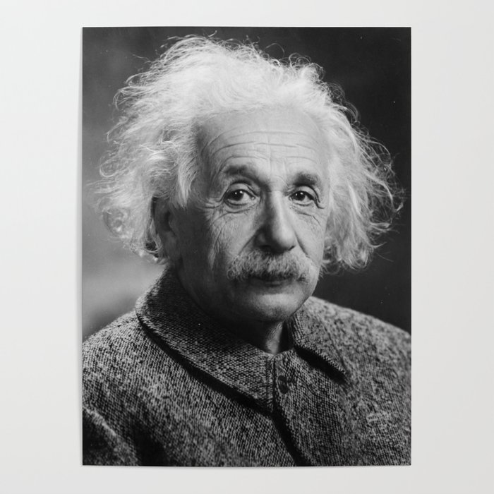 как эйнштейн альберт постер того