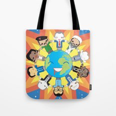 THE WORLD ROBOTIC Tote Bag