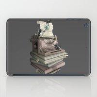 bookworm iPad Cases featuring Bookworm by BlancaJP