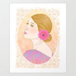 Dude!! Looks Like a Lady Art Print