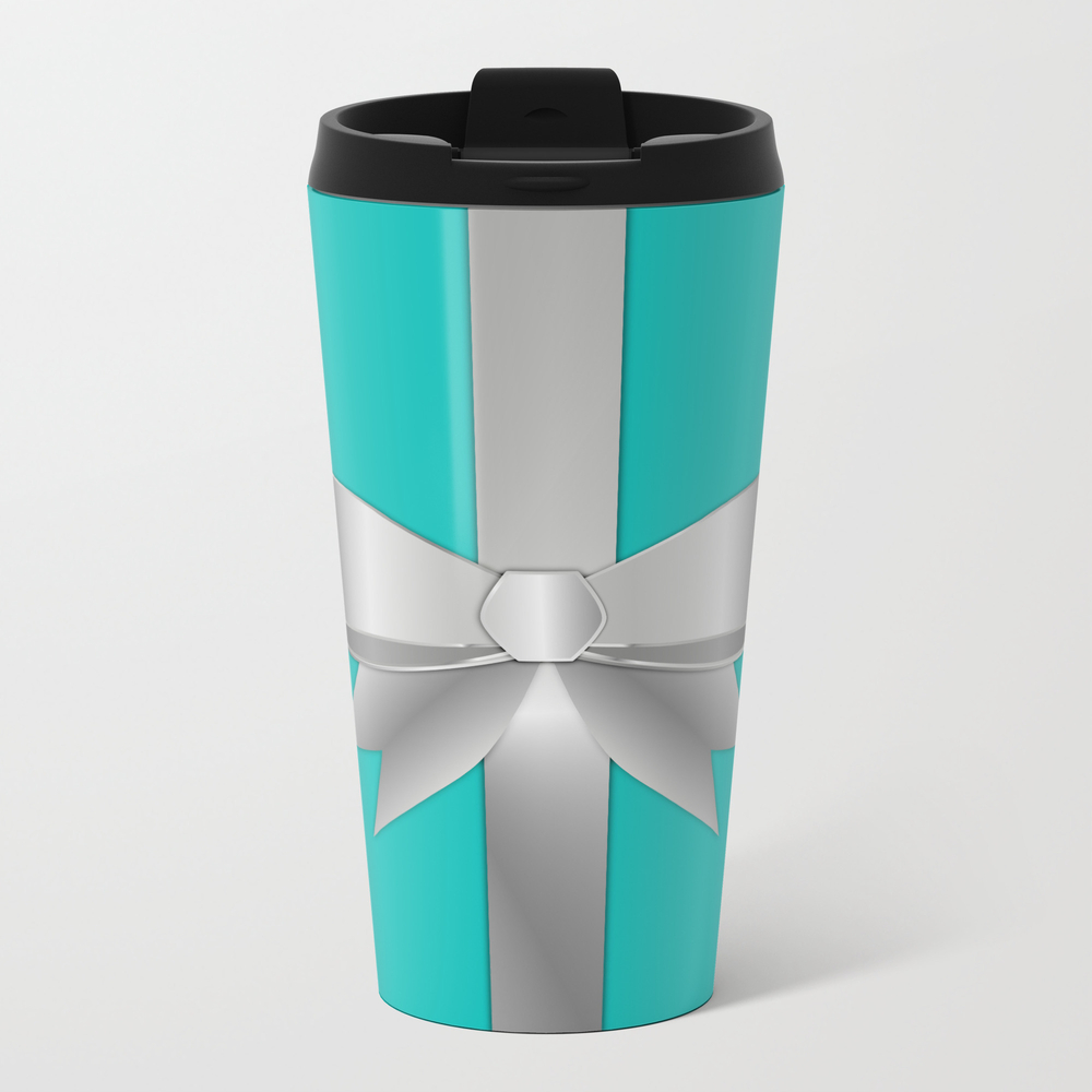 Blue Gift Box Travel Mug TRM7950630