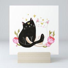Sailor cats Mini Art Print