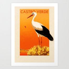 Portugal - Castro Verde Art Print