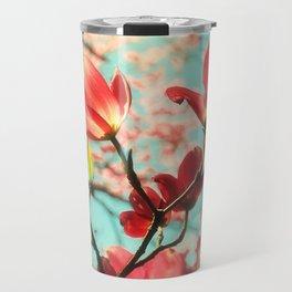 Spring dogwood blossoms Travel Mug
