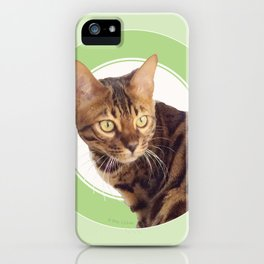 Boris the cat - Boris le chat iPhone Case