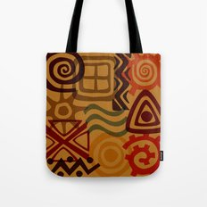africa inspired Tote Bag