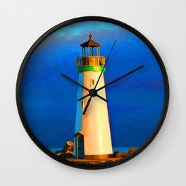 Walton Ligthouse Wall Clock