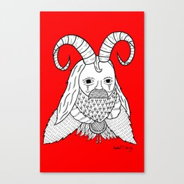 Chinese New Year of the Goatman Canvas Print