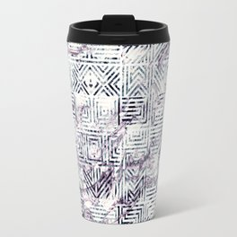 Marbleized Tiles Travel Mug