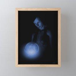 THE CRYSTAL BALL Framed Mini Art Print