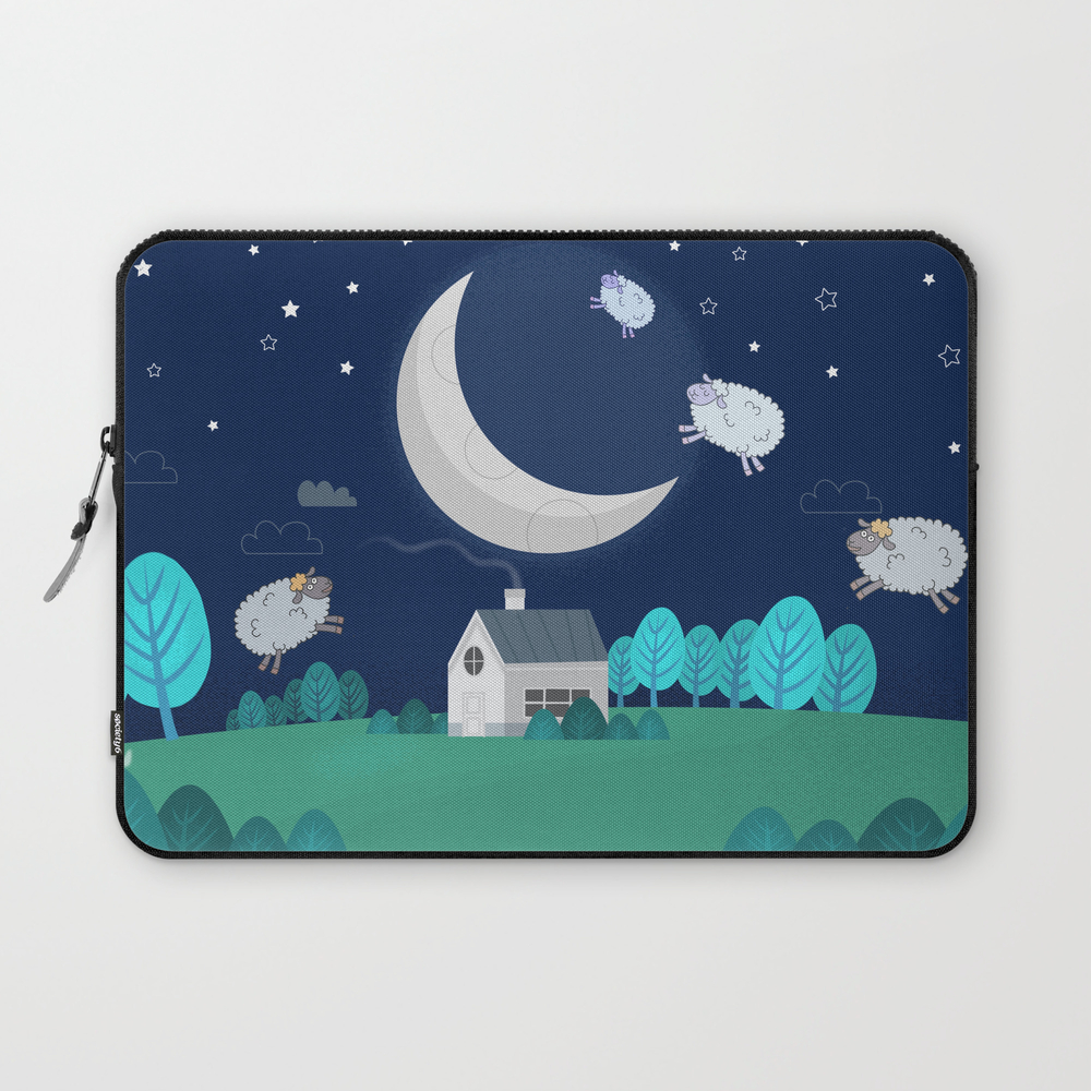 What The Sheep Do While You Sleep Laptop Sleeve LSV7953777