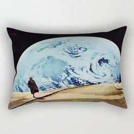 Moon walking Rectangular Pillow