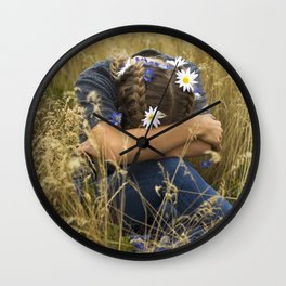 when will spring come? Wall Clock