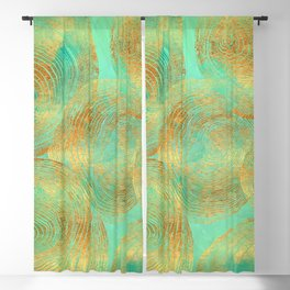 Jungle Theorem Abstract Blackout Curtain