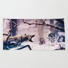 The Last Stand Beach Towel