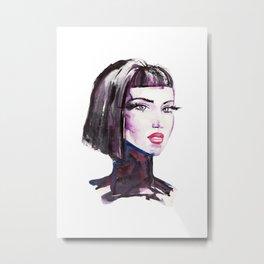 Fashion portrait Metal Print