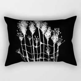 by the water Rectangular Pillow