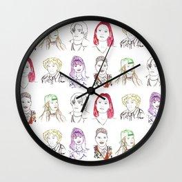 Cool Kids Wall Clock