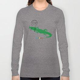 Crocodile Float Long Sleeve T-shirt