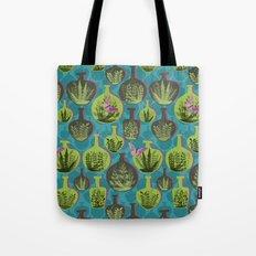 Green Glass Tote Bag