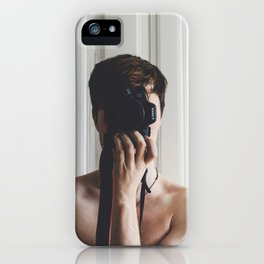 Photographer Boy iPhone Case